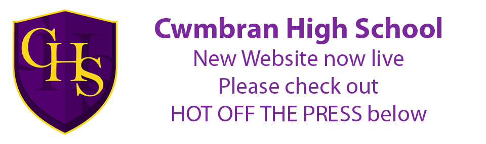 cwmbran high new website